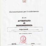 Impegno civile |  benemerenza Isfoa a Helga Guardì Parlamento Legalità Internazionale